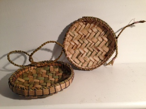 Shallow Rush Trinket Baskets Workshop