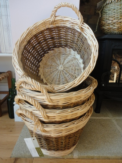 Willow kindling baskets