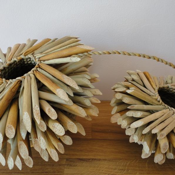 Rush keepsake baskets