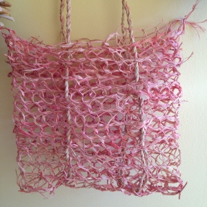 Raffia Looped Bag