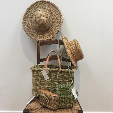 Rush bags & hats